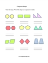 Picture of Congruent Shapes