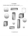 Picture of 3-D Shapes