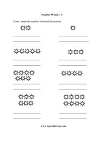 Picture of Number Words